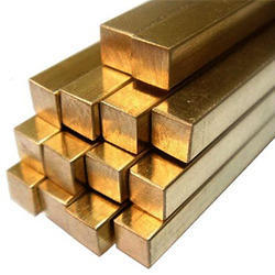 Brass Square Extrusion Rods