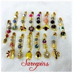 Beads Saree Pins