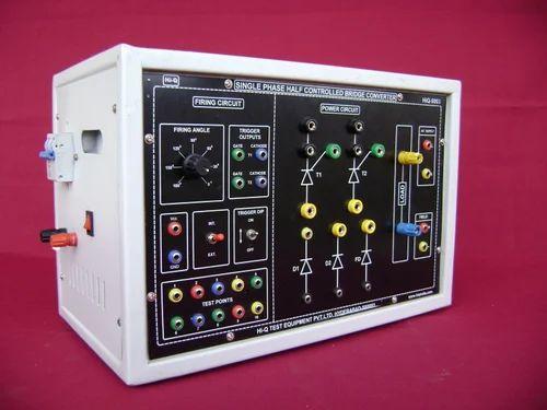 Power Electronics Lab - SCR Firing Circuit Trainer