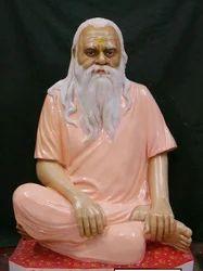 Marble Monk Gagangiri Statue