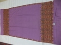 Pure Pashmina Heavy Embroidered Needle Work Border Shawls