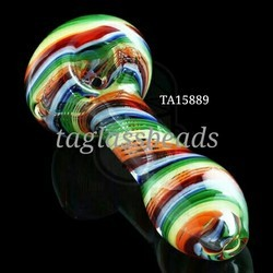 Honey comb Glass smoking pipe