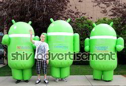 Android Walking Inflatable