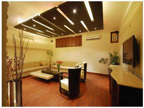 Living Room False Ceiling Design Service In Sector 4 Noida Metal