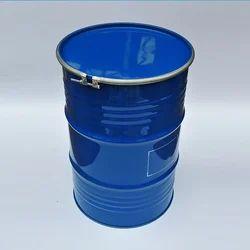Mild Steel Open Mouth Barrels, Capacity: 200-250 litres