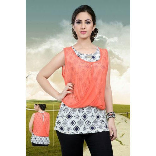 Partywear Girls Top - View Specifications  Details Of -4993