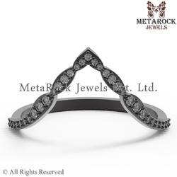 Handmade Anniversary Gift Diamond Rings
