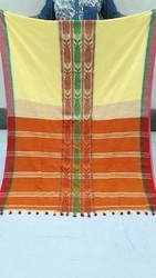 Cotton Lehanga Saree, With Blouse Piece