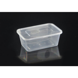 Microwavable Plastic Food Container