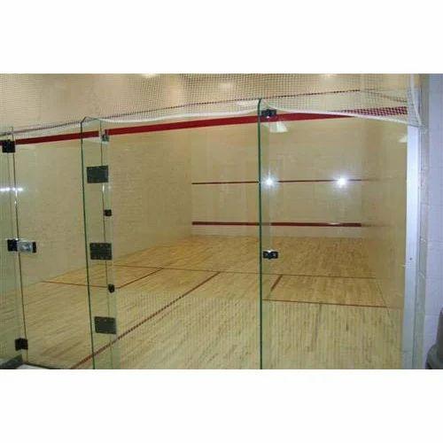 Squash Court Wooden Flooring Service