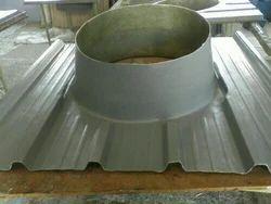 Roof ventilator bottom base