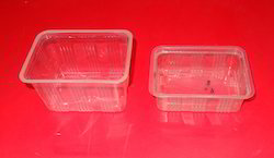 11.8x11.8x8.3cm Food Containers