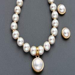 Pearl pendant set in hyderabad telangana moti ka jhumka set fancy pearl pendant sets aloadofball