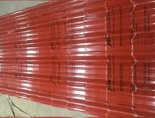 Jsw Color Color Coated Sheets, 0.50mm