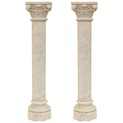 Polymer Stone Pillars
