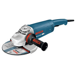 蓝色博世GWS 26-180 H角磨机7英寸,2400W 8500 RPM,保修:反对制造业缺陷
