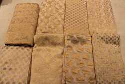Pure Chiffon Silk Zari Brocade