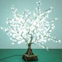 White Color LED Tree