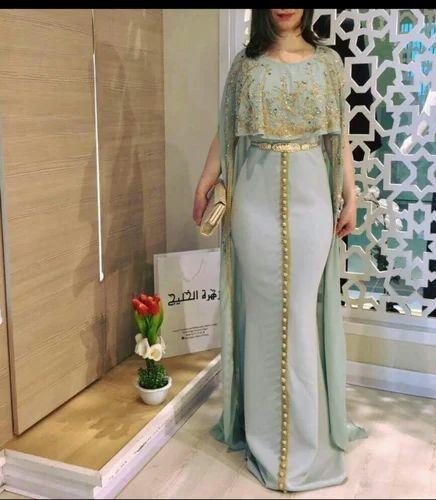 Moroccan Kaftan Morocco Wedding Gown Manufacturer From Kolkata