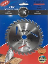 Scorpio Wood Cutting Blade TCT