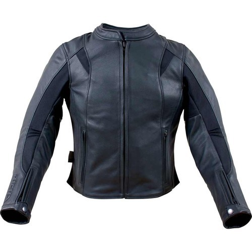 Apparel & Merchandise Ebay Motors Bikestar Leather Co Womans Black Leather Motorcycle Jacket Quilted Zip Lining L Large Assortment