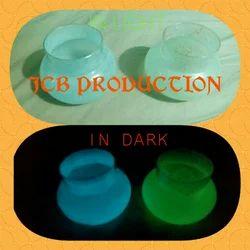 Glowing Glass Pot, Size: Medium