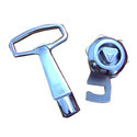Zinc Alloy Control Panel Lock, Size(millimetre): 25mm