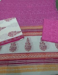 Unstitched Printed Salwar Suits