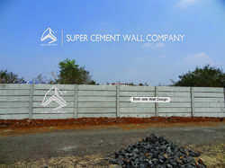 RCC Folding Concrete Boundary Wall Compound