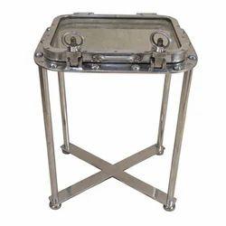 Aluminium Porthole Table