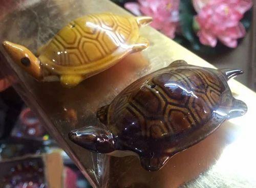 Ceramic Floating Turtle