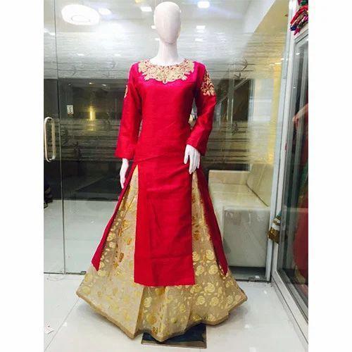 Ladies Party Wear Dress परट क कपड Shiv Textile