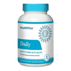 Healthviva Daily, Unflavoured 60 Capsules