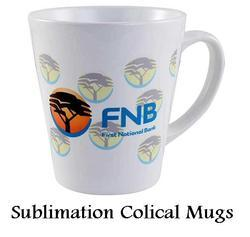 Sublimation Conical Mugs - Blank Cone Mugs