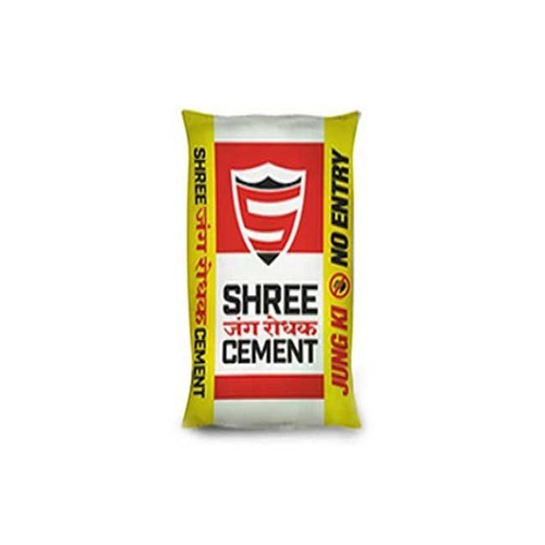 Shree Cement, Grade: PPC, Packing Size: 50 kg