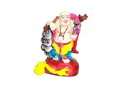 Polyresin Handpainted Laughing Buddha Statue