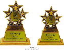 Resin Star Sport Trophy