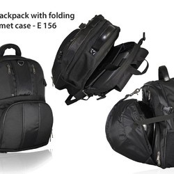 Laptop Bagpack With Folding Helmet Case