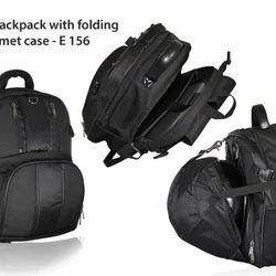 Laptop Bagpack With Folding Helmet Case