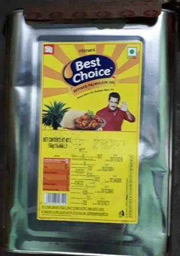 Himani Best Choice Palm Oil 15 Kg