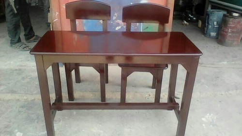 Rubberwood Spider Table With 2 Chairs Children Table Wood Big