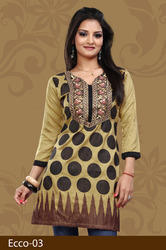Incredible Crepe Plus Size Kurti
