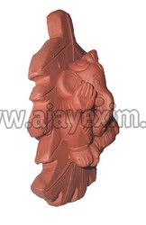 Clay Leaf Hanging Ganesha