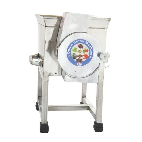 Natraj Stainless Steel Onion Cutter Machine, Model: 1 HP