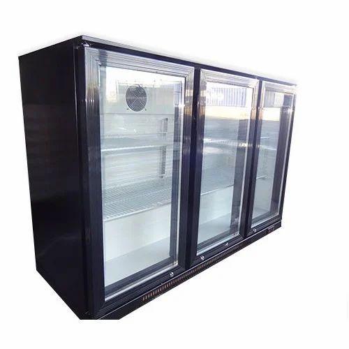 Three Door Bar Refrigerator