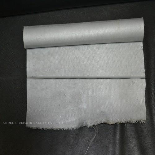 Grey Silicone Coated Fiberglass Fabric
