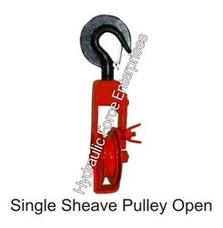 Single Sheave Pulley Open