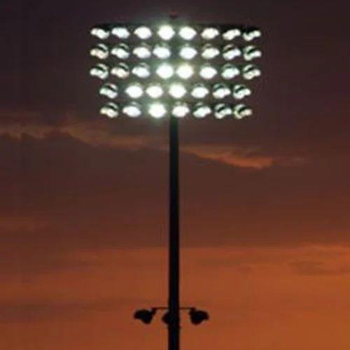 Stadium Lights Manufacturers: Stadium Light Pole At Rs 4500 /meter