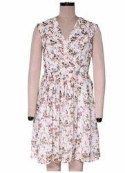 Floral Fidelia Georgette Dress