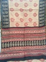 Block Printed Chanderi Sarees